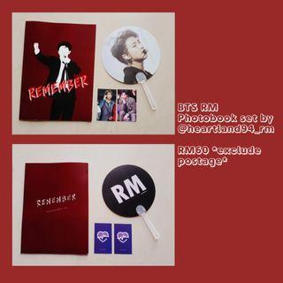 BTS RM / NAMJOON Photobook Set