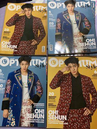 SEHUN magazine OPTIMUM