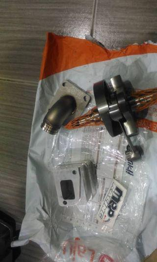 crankshaft mazzuchelli & mrp reed valve