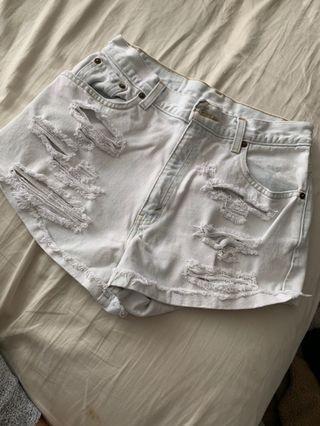 levis vintage highwaisted shorts