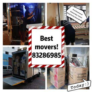 Move Move Movers ! Never Be late! (201921838k)professional mover house moving disposal office moving