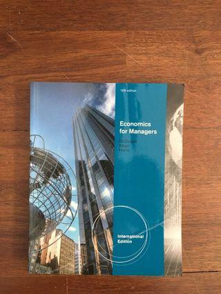 Economics for Managers by McGuigan/ Mayer/ Harris