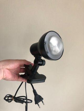 Lampu exoterra + fitting lamp