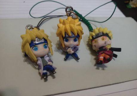 NARUTO & ONE PIECE capsule toys