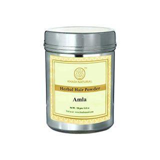 Khadi Natural Herbal Organic Amla Powder, 150g