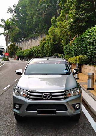 TOYOTA HILUX REVO SAMBUNG BAYAR