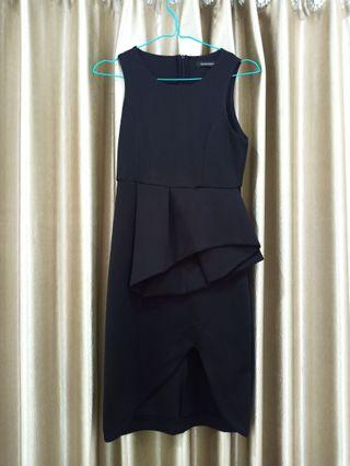 BAJU PESTA HITAM / BLACK FORMAL DRESS