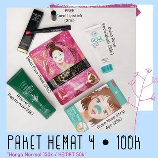 Paket hemat 4 , beauty care daiso