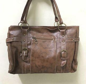brown bag handbag tas tangan fashion wanita coklat murah