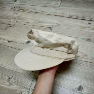 米白ㄉ報童帽