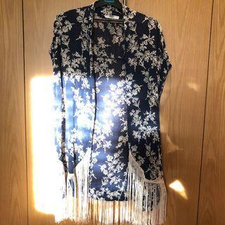 Mango blue kimono