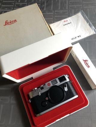 Leica M6 Classic (with matching box)