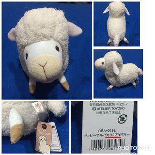 SHinada日本baby系列娃娃可愛娃娃嬰兒羊駝(L)