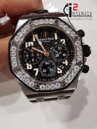 Audemars Piguet Royal Oak Offshore LadyCat Chronograph Automatic Diamond Ltd 150pcs