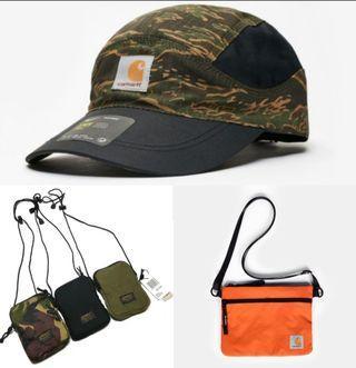 Carhartt sling bag / 5 panel cap