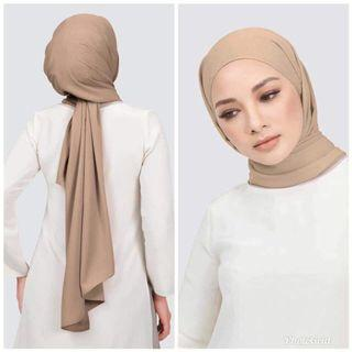 Shawl plain murah
