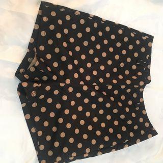 Polka Dots Highwaist Shorts