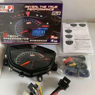 UMA LC135 Spark Speedometer inc installation!