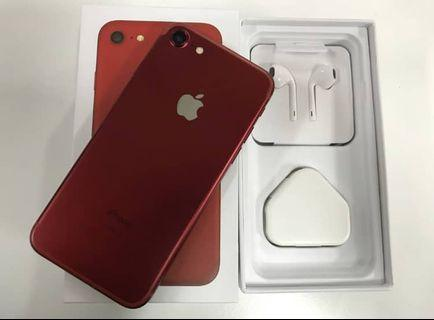 IPHONE 7 RED LIMITED 128GB