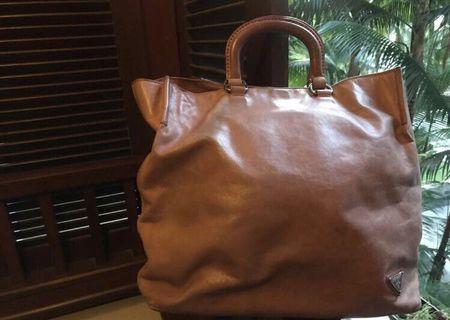 Original Prada leather tote