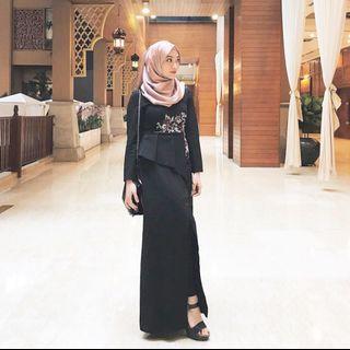 Zalia Dress Peplum