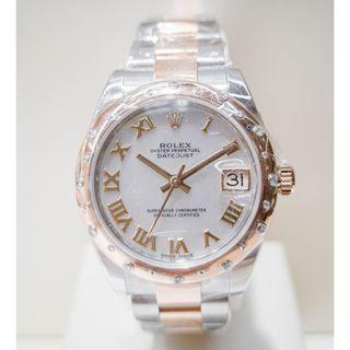 Rolex Datejust Mother of Pearl Watch
