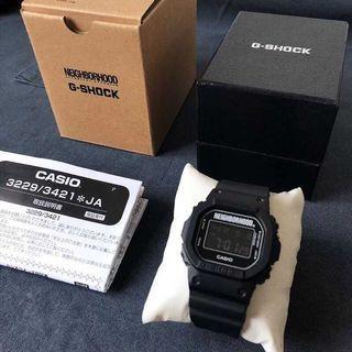 Casio Watch G-Shock X Neighborhood NBHD