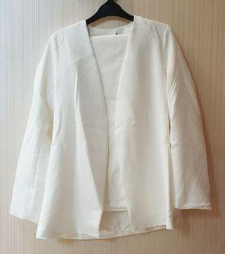 White Blazer set