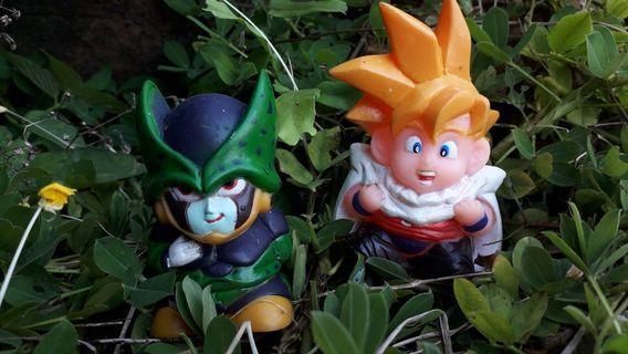 Gohan & Cell Cute Dragonball set
