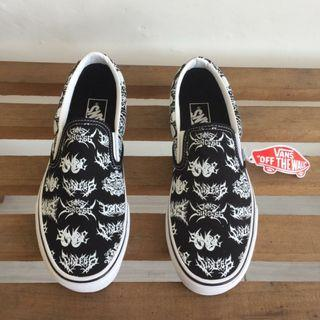 Vans Slipon Forgotten Bones Black White
