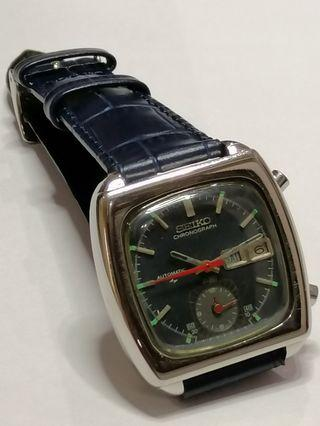 Seiko 7016 Flyback Chronograph Rare very hard to find Vintage Rolex Omega  Diver