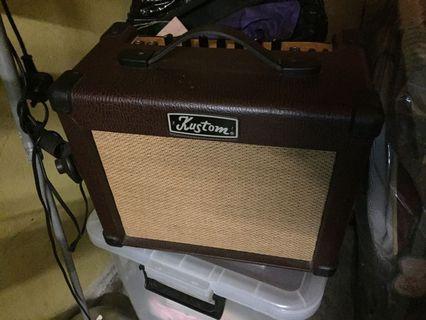 Kustom sienna 16Pro acoustic guitar amplifier