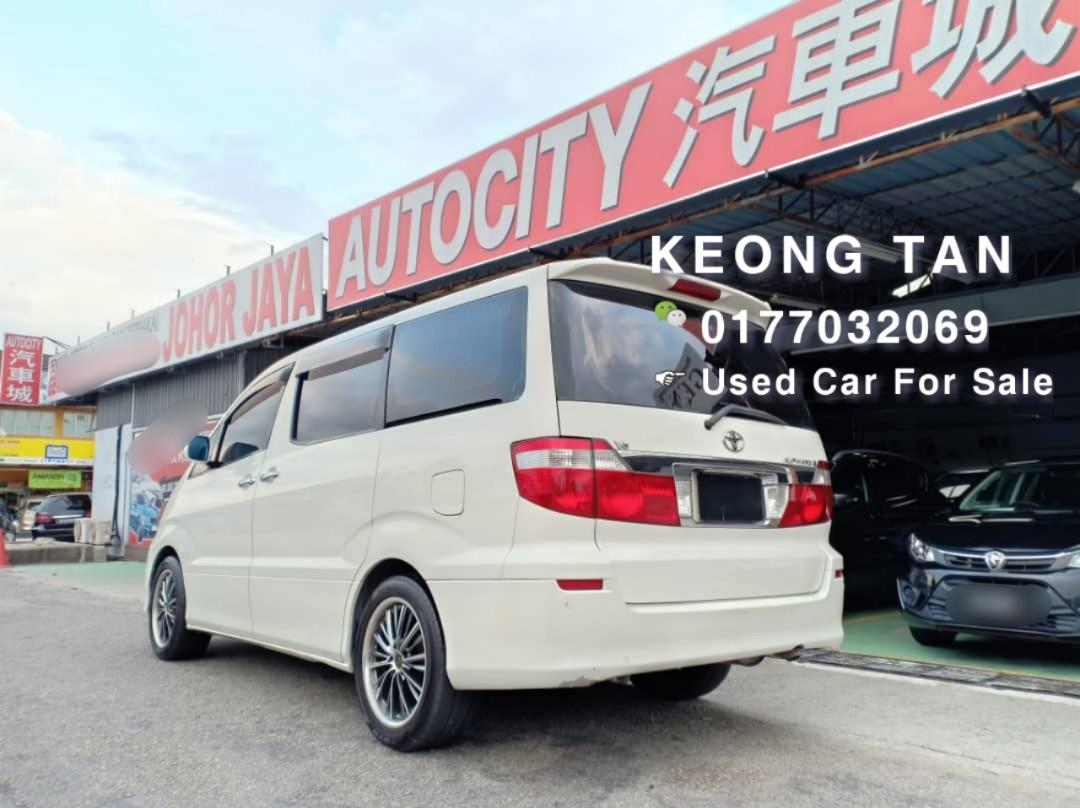 2003TH Toyota ALPHARD 3.0 MZ(A) 7Seat MPV Carking 🚘HightSpec Cash💰OfferPrice💲Rm45,800 Only⚠️LowestPrice InJB🎉Call 📲Keong For More🤗