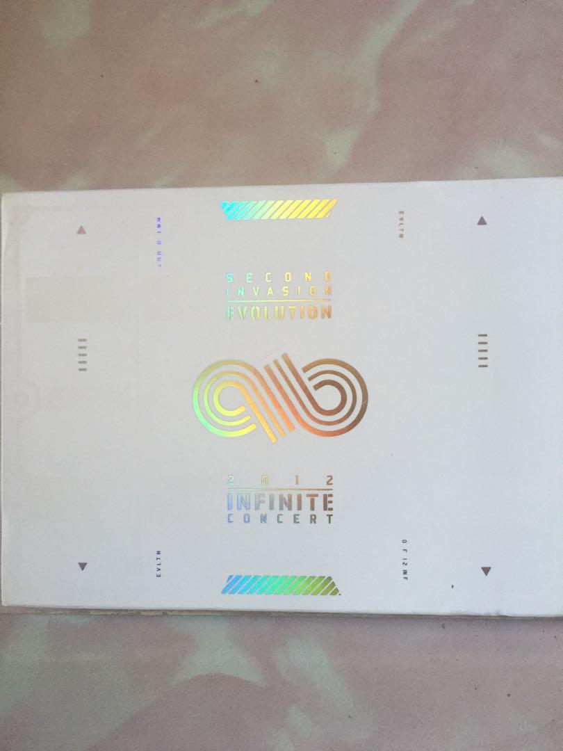 2012 Infinite Concert - Second Invasion Evolution (2 DVD + Photobook)