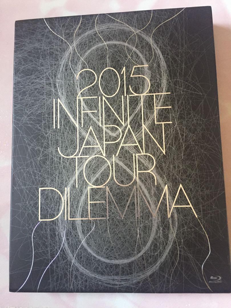 2015 INFINITE JAPAN TOUR - DILEMMA - [BLU-RAY] (First Press Limited Edition)(Japan Version)