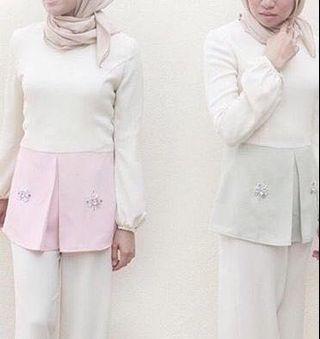 Arared White Tops