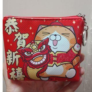 【近全新】新年零錢包