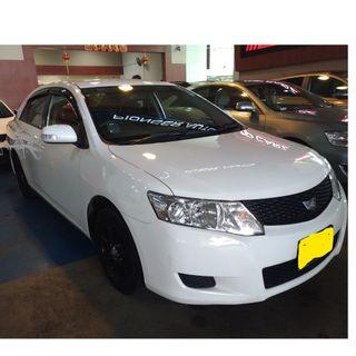 TOYOTA ALLION 1.5L - LUXURIOUS! ECONOMICAL WITH GOJEK REBATE!! VERY RARE TO COME BY! FAMOUS FOR LOW FUEL CONSUMPTION!