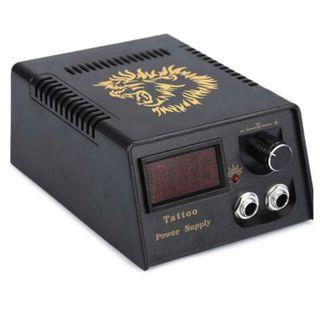 Lion Head Professional Tattoo Power Supply Digital LCD Power Supply For Both Tattoo Liners and Shaders