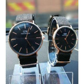 Daniel Watch DW Rose Gold Watches Set Jam Tangan Couple Wellington Watches 40mm