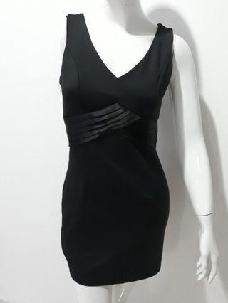 Black mini Dress BRibbon