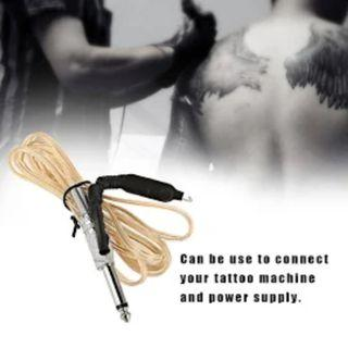 【Tattoo Beginner】Transparent Heavy Duty Silicone Soft Tattoo Clip Cord for Tattoo Machines Power Supply Line