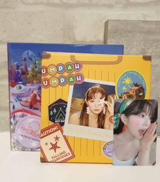Seulgi travel kit + irene pc