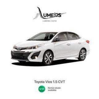 Toyota Vios CVT - Grab / PHV / Grab rebate eligible