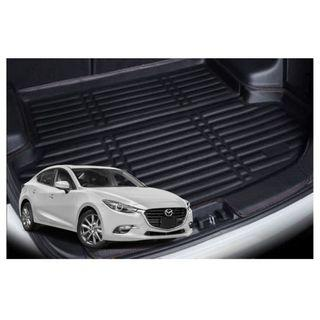 Mazda 3 Leather Boot Mat Tray
