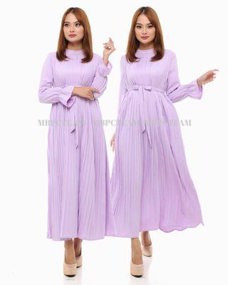 ALICE Pleated Dress (Pre-Order)
