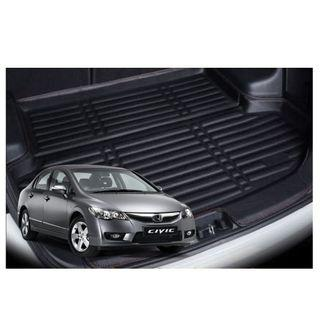 Honda Civic FD Leather Boot Tray Mat