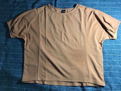 Top premium blouse coklat iora