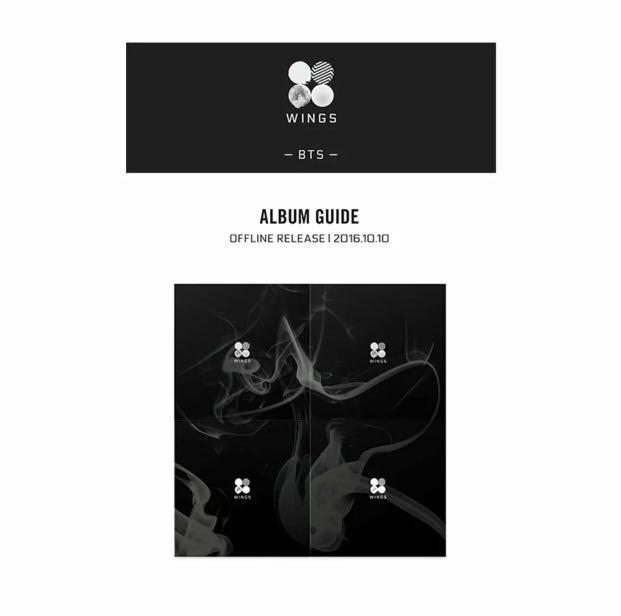 BTS 방탄소년단 - VOL.2 WINGS BRAND NEW SEALED WITH ORIGINAL CONTENTS