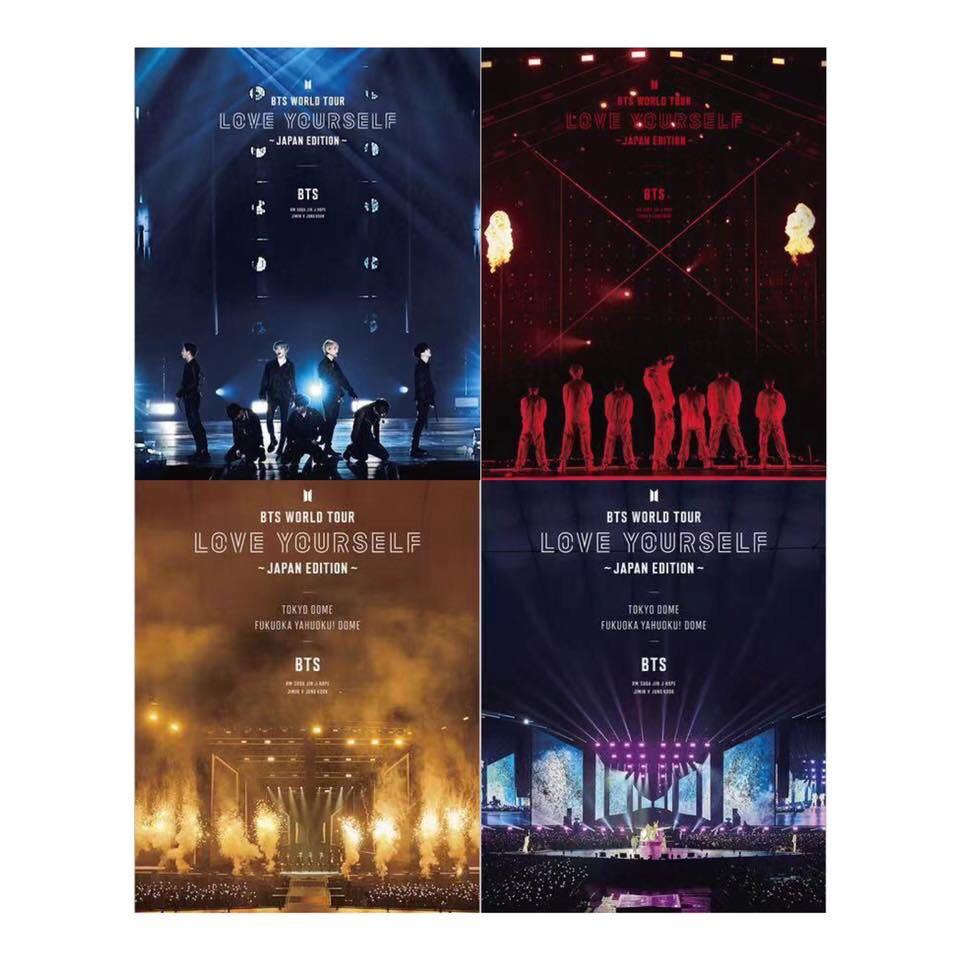 BTS LIVE Blu-ray & DVD [BTS WORLD TOUR 'LOVE YOURSELF' JAPAN EDITION]